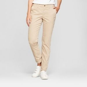 A New Day Mid Rise Slim Fit Stretch Corduroy Pants